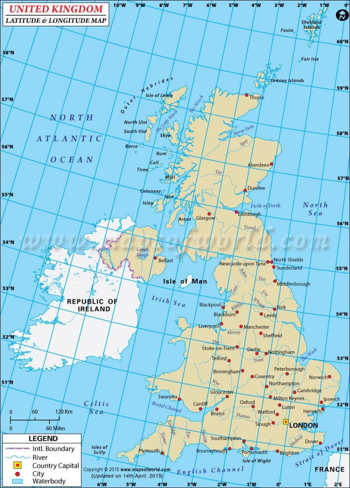 Koordinaten Karte.Koordinaten Uk Bike Karten Uk Northern Europe Europa
