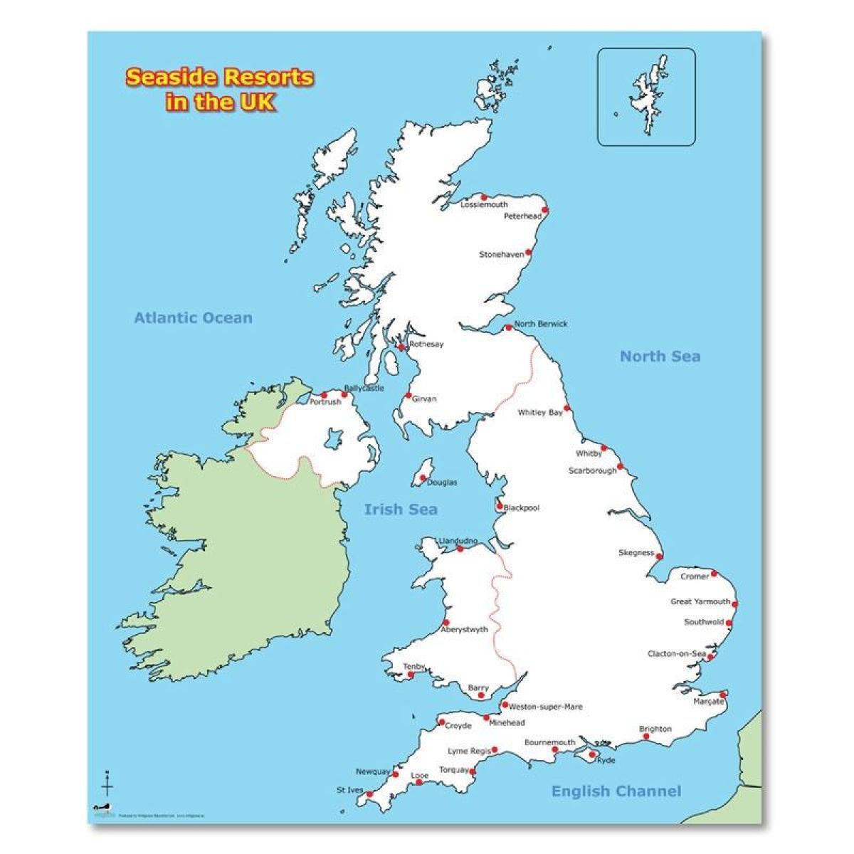 Irland Karte Europa.Meer Großbritannien Karte Leere Karte Von Großbritannien Und